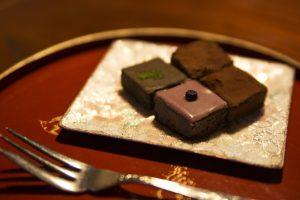 一番人気の生チョコレート4種